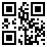 κώδικας qr Στοκ εικόνες με δικαίωμα ελεύθερης χρήσης