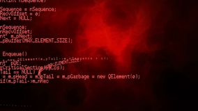 Κώδικες προγράμματος απόθεμα βίντεο