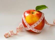 κώλυμα μέτρου μήλων Στοκ Φωτογραφία