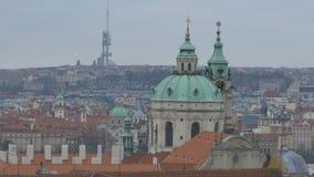 Κώνοι στην παλαιά πόλη της Πράγας φιλμ μικρού μήκους