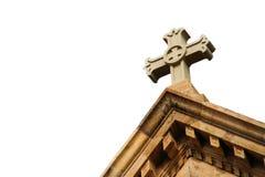 Κώνος εκκλησιών στο άσπρο υπόβαθρο Στοκ Εικόνες