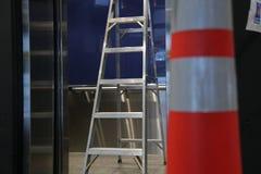 Κώνος σκαλών υποβάθρου Στοκ φωτογραφία με δικαίωμα ελεύθερης χρήσης