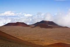 Κώνος της Cinder στη Χαβάη κοντά στη σύνοδο κορυφής Στοκ φωτογραφία με δικαίωμα ελεύθερης χρήσης