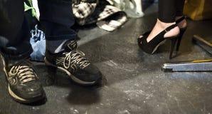 Κώδικας παπουτσιών στοκ φωτογραφίες με δικαίωμα ελεύθερης χρήσης