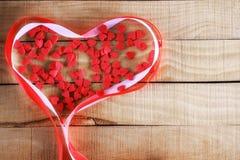 Κώλυμα υπό μορφή καρδιάς Στοκ Εικόνες