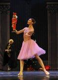 Κλάρα πιό πολύ συμπαθεί τον κούκλα-καρυοθραύστης μπαλέτου Στοκ Εικόνες