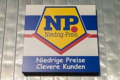 Κλάδος από το αλυσίδα σουπερμάρκετ του NP Στοκ εικόνες με δικαίωμα ελεύθερης χρήσης