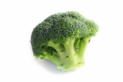 Κλάδος του φρέσκου νόστιμου πράσινου λάχανου μπρόκολου Η φωτογραφία απεικονίζει ένα BR Στοκ φωτογραφίες με δικαίωμα ελεύθερης χρήσης