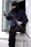 Κλέφτης στο σπίτι Στοκ Εικόνα