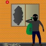 Κλέφτης Ελεύθερη απεικόνιση δικαιώματος