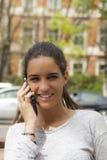 κλήση ευτυχής στοκ φωτογραφία με δικαίωμα ελεύθερης χρήσης