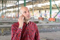 κλήση των νεολαιών ατόμων Στοκ Φωτογραφίες