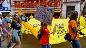 Κλίμα 556 ανθρώπων Μαρτίου Στοκ Φωτογραφίες