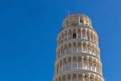 Κλίνοντας πύργος της Πίζας (Di Πίζα Torre pendente)??????????? μπελ Στοκ εικόνες με δικαίωμα ελεύθερης χρήσης