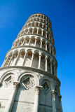 Κλίνοντας πύργος του Di Πίζα, τετράγωνο της Πίζας ή Torre pendente θαύματος Στοκ Φωτογραφία