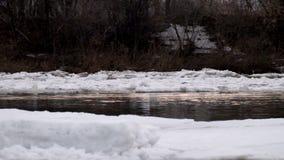 Κλίση πάγου στον ποταμό φιλμ μικρού μήκους
