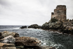 κλίση που αλιεύει το μεσογειακό καθαρό τόνο θάλασσας Στοκ φωτογραφία με δικαίωμα ελεύθερης χρήσης