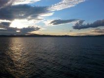 κλίση που αλιεύει το μεσογειακό καθαρό τόνο θάλασσας Στοκ φωτογραφίες με δικαίωμα ελεύθερης χρήσης