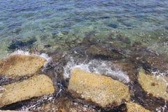 κλίση που αλιεύει το μεσογειακό καθαρό τόνο θάλασσας Στοκ Εικόνες