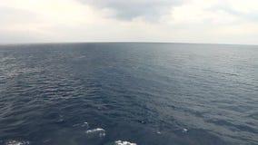 κλίση που αλιεύει το μεσογειακό καθαρό τόνο θάλασσας απόθεμα βίντεο