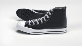 Κλασικά αντίστροφα πάνινα παπούτσια Στοκ Φωτογραφία