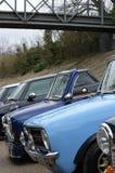 Κλασικά μίνι αυτοκίνητα στο μίνι γεγονός ημέρας Brooklands του 2017 Στοκ φωτογραφίες με δικαίωμα ελεύθερης χρήσης