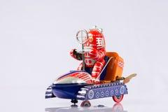 Κλασικά παιχνίδια ρομπότ στοκ φωτογραφία