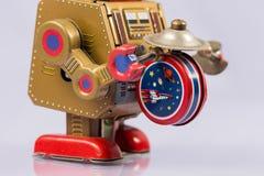 Κλασικά παιχνίδια ρομπότ Στοκ Εικόνες
