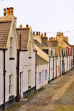 Κλασικά παράκτια εξοχικά σπίτια, Σκωτία Στοκ Φωτογραφία