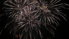 Κλασικά πυροτεχνήματα στον ουρανό φιλμ μικρού μήκους