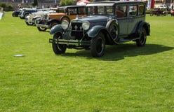 Κλασική έκθεση αυτοκινήτων Στοκ Εικόνα