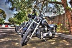 Κλασική αμερικανική μοτοσικλέτα του Harley Davidson Στοκ φωτογραφία με δικαίωμα ελεύθερης χρήσης