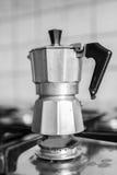 Κλασική ιταλική καφετιέρα στοκ εικόνα με δικαίωμα ελεύθερης χρήσης