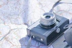 Κλασική κάμερα Στοκ φωτογραφία με δικαίωμα ελεύθερης χρήσης