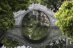 Κλασική κινεζική μικρή γέφυρα Στοκ Εικόνα