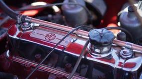 Κλασική μηχανή αυτοκινήτων Στοκ φωτογραφία με δικαίωμα ελεύθερης χρήσης