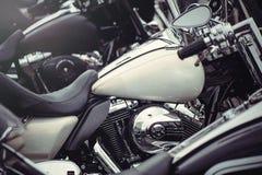 Κλασική μοτοσικλέτα δεξαμενών Στοκ φωτογραφίες με δικαίωμα ελεύθερης χρήσης