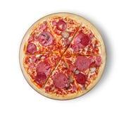 κλασική πίτσα Στοκ Εικόνες