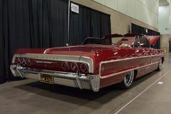 Κλασική συνήθεια αυτοκινήτων Impala Chevrolet στοκ εικόνες