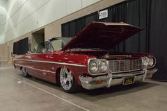 Κλασική συνήθεια αυτοκινήτων Impala Chevrolet στοκ φωτογραφία με δικαίωμα ελεύθερης χρήσης