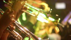 Κλασικός ατού μουσικής της Jazz απόθεμα βίντεο