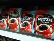Κλασικός καφέ nescafe Στοκ Φωτογραφία