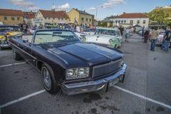 1975 κλασικός μετατρέψιμος ιδιοτροπίας Chevrolet Στοκ εικόνα με δικαίωμα ελεύθερης χρήσης