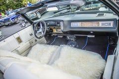 1975 κλασικός μετατρέψιμος ιδιοτροπίας Chevrolet Στοκ Φωτογραφίες