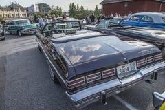 1975 κλασικός μετατρέψιμος ιδιοτροπίας Chevrolet Στοκ Εικόνα