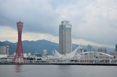 Κλασικός πύργος κτηρίου και landmarke λιμένων του Kobe στο πάρκο ν Meriken Στοκ εικόνες με δικαίωμα ελεύθερης χρήσης