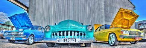 Κλασικός υδράργυρος της Ford της δεκαετίας του '50 αμερικανικός στοκ εικόνες