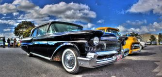 Κλασικός υδράργυρος της Ford της δεκαετίας του '50 αμερικανικός στοκ φωτογραφία με δικαίωμα ελεύθερης χρήσης