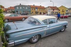Κλασικός-Amcar, impala chevrolet του 1950 Στοκ εικόνα με δικαίωμα ελεύθερης χρήσης