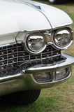 Κλασικό αυτοκίνητο με το θερμαντικό σώμα Στοκ Φωτογραφίες